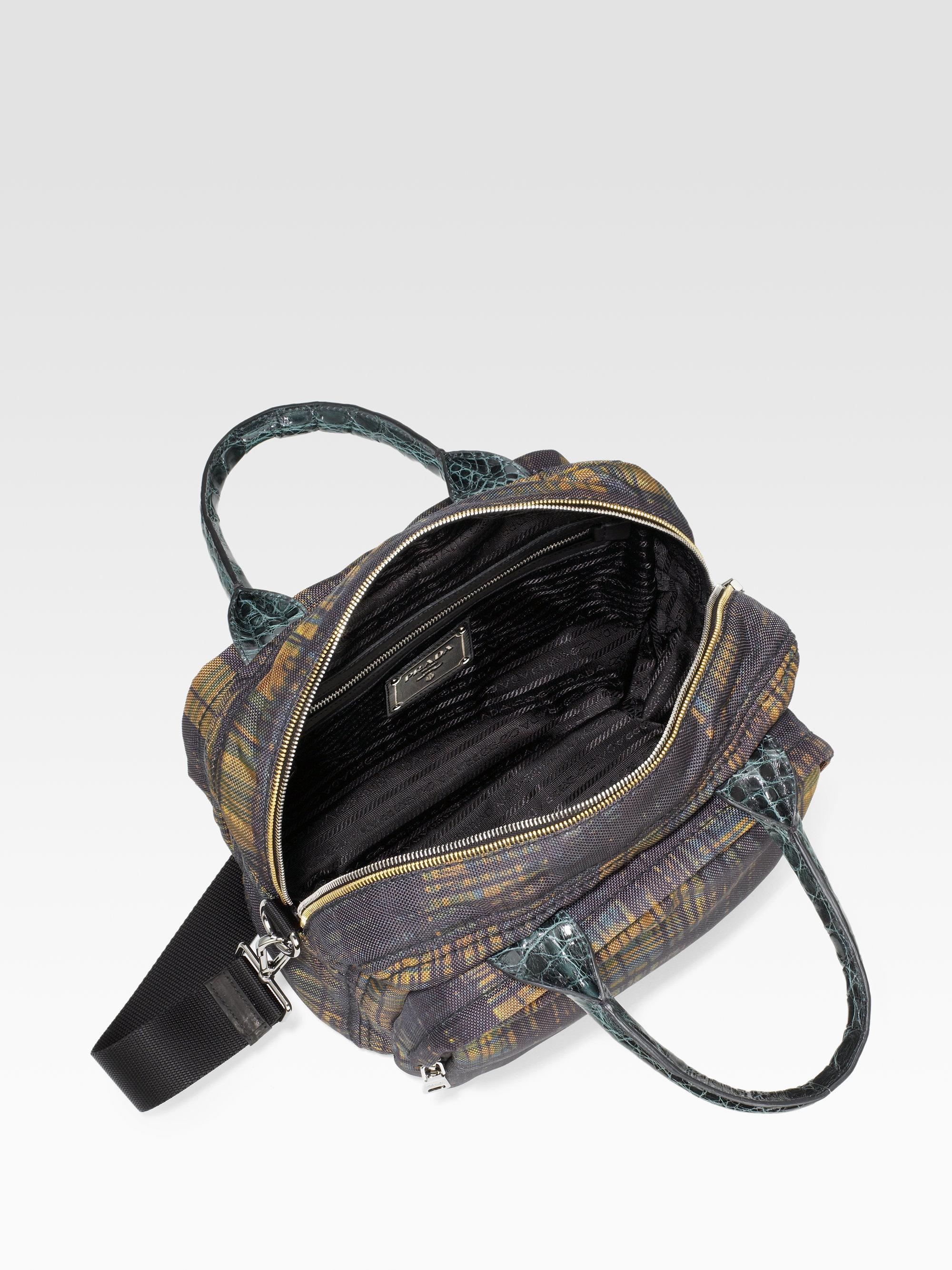 Prada Cordura \u0026amp; Cocco Camera Bag in Multicolor (multi) | Lyst