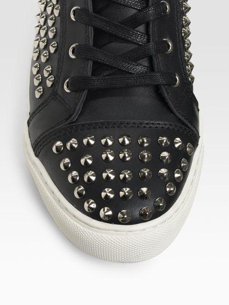 Rock Amp Republic Studded Sneakers In Black For Men Lyst