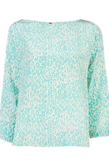 Tucker Pod Blouse - Lyst