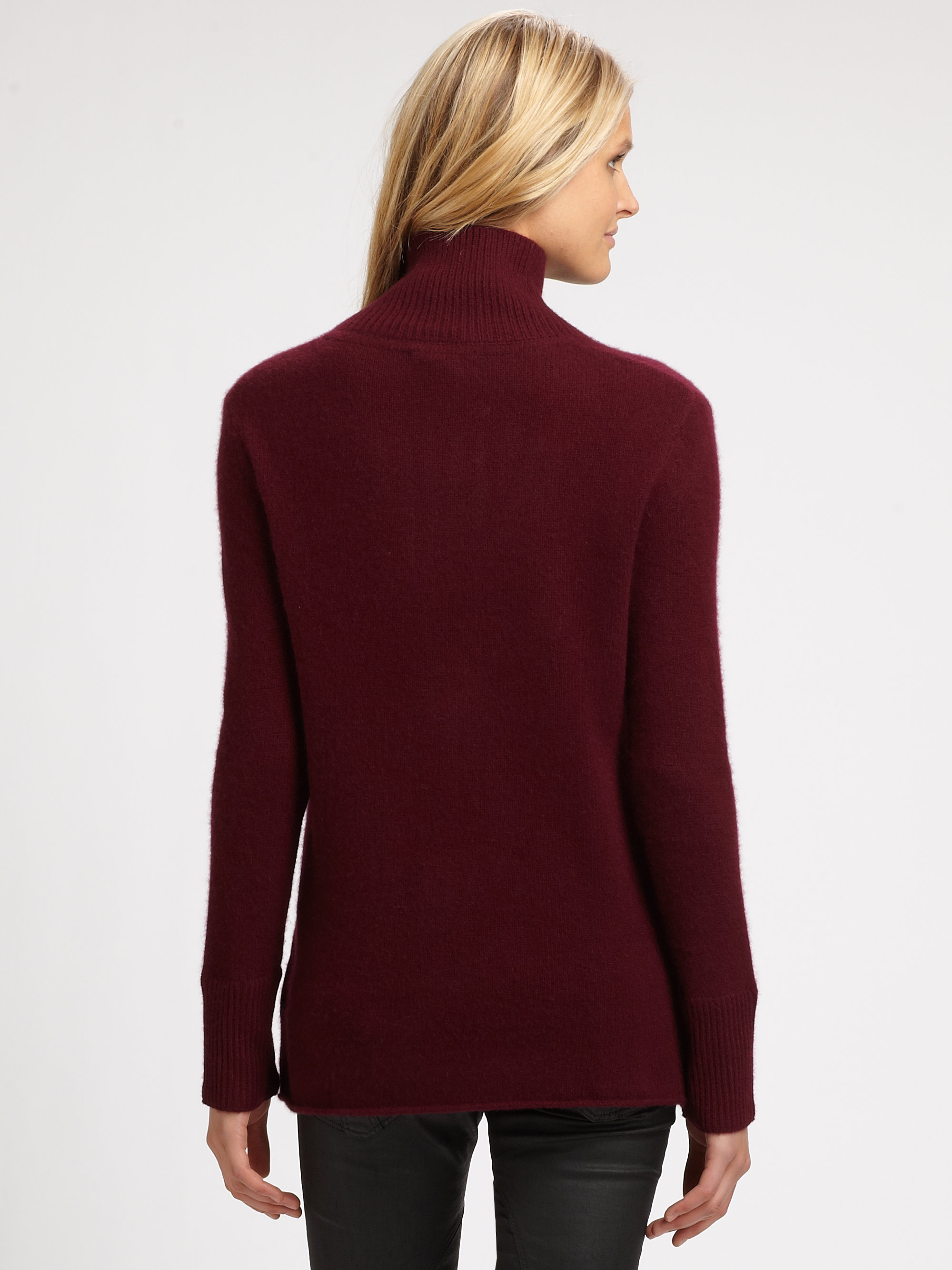 Burberry brit Cashmere Sweater in Red | Lyst