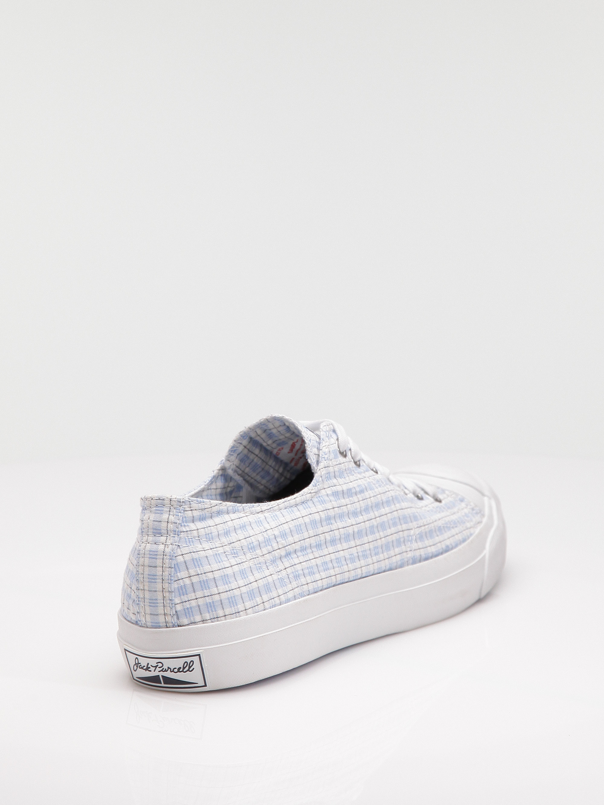 67f6564e78f3 Lyst - Converse Jack Purcell Seersucker Oxfords in White for Men