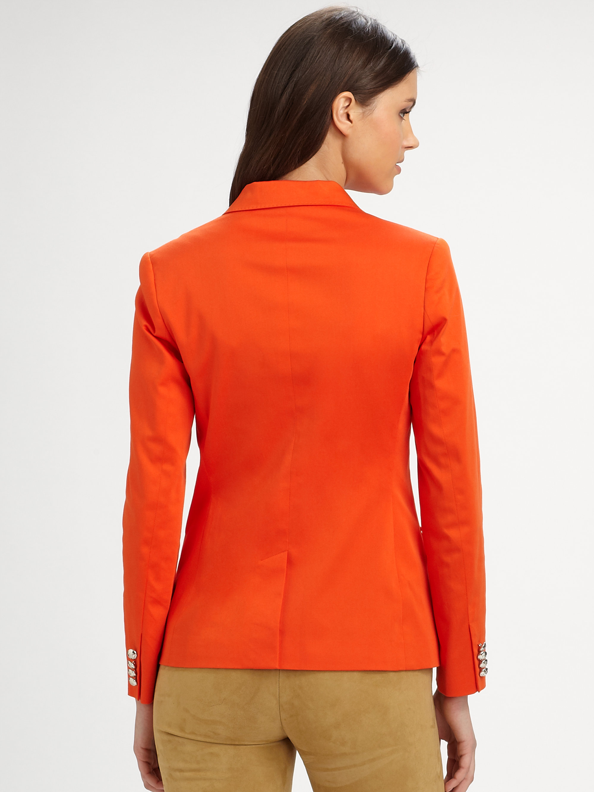From bomber jackets and denim blazers to leather jackets and orange blazer for women for sale moto jackets, the options for coordinating the perfect outfit are limitless. Is an American-based chain of department stores, also operating in Canada and Puerto Rico, headquartered in Seattle, Washington.