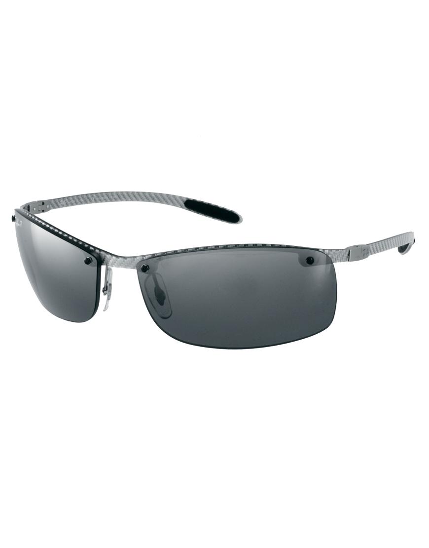 555b38c90a0 Lyst ray ban rimless sunglasses in gray for men jpg 870x1110 Rimless  wayfarer sunglasses