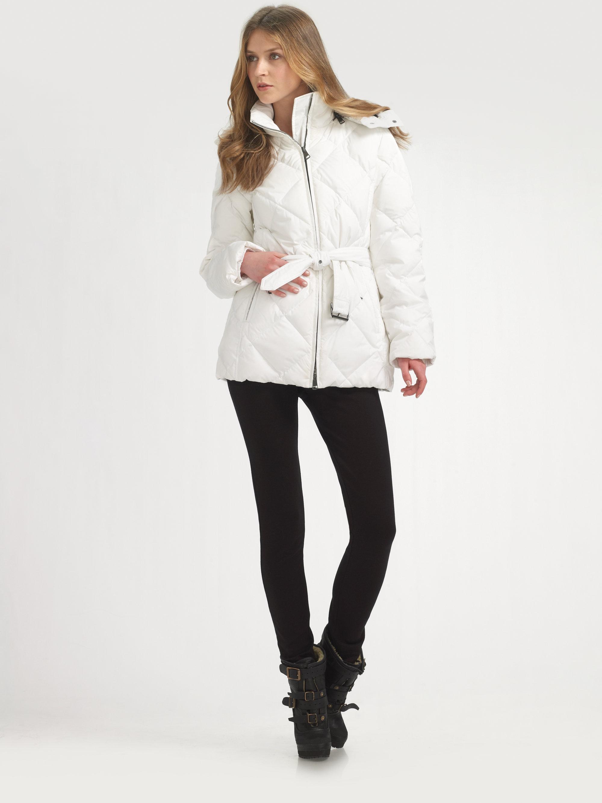 White Down Coat - JacketIn
