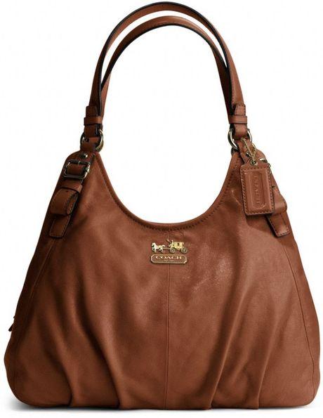 Coach Large Black Leather Shoulder Bag – Shoulder Travel Bag