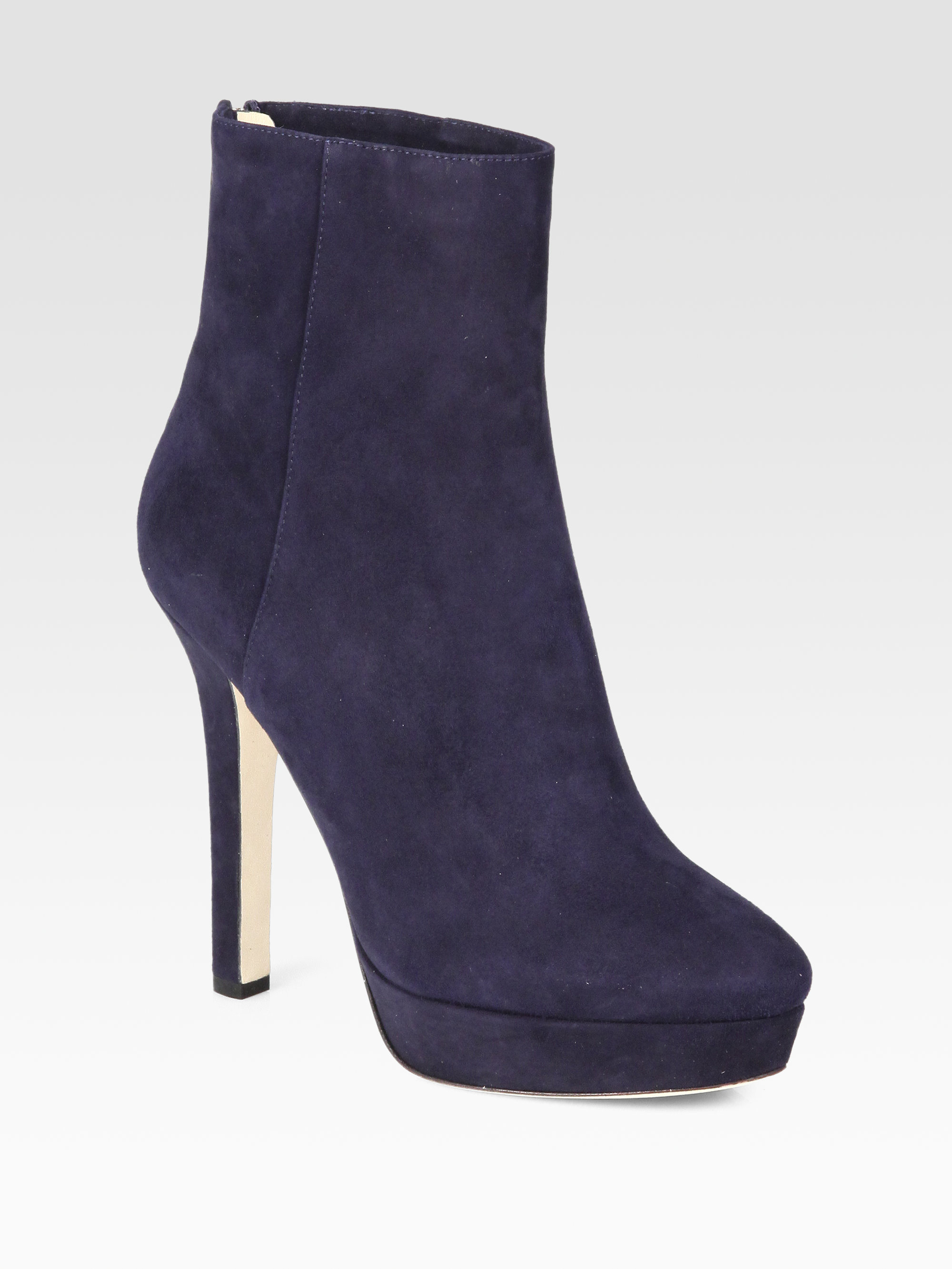 Jimmy Choo Platform Suede Booties buy cheap for sale collections for sale 2014 new cheap online cheap sale pay with visa Q4WZmsG