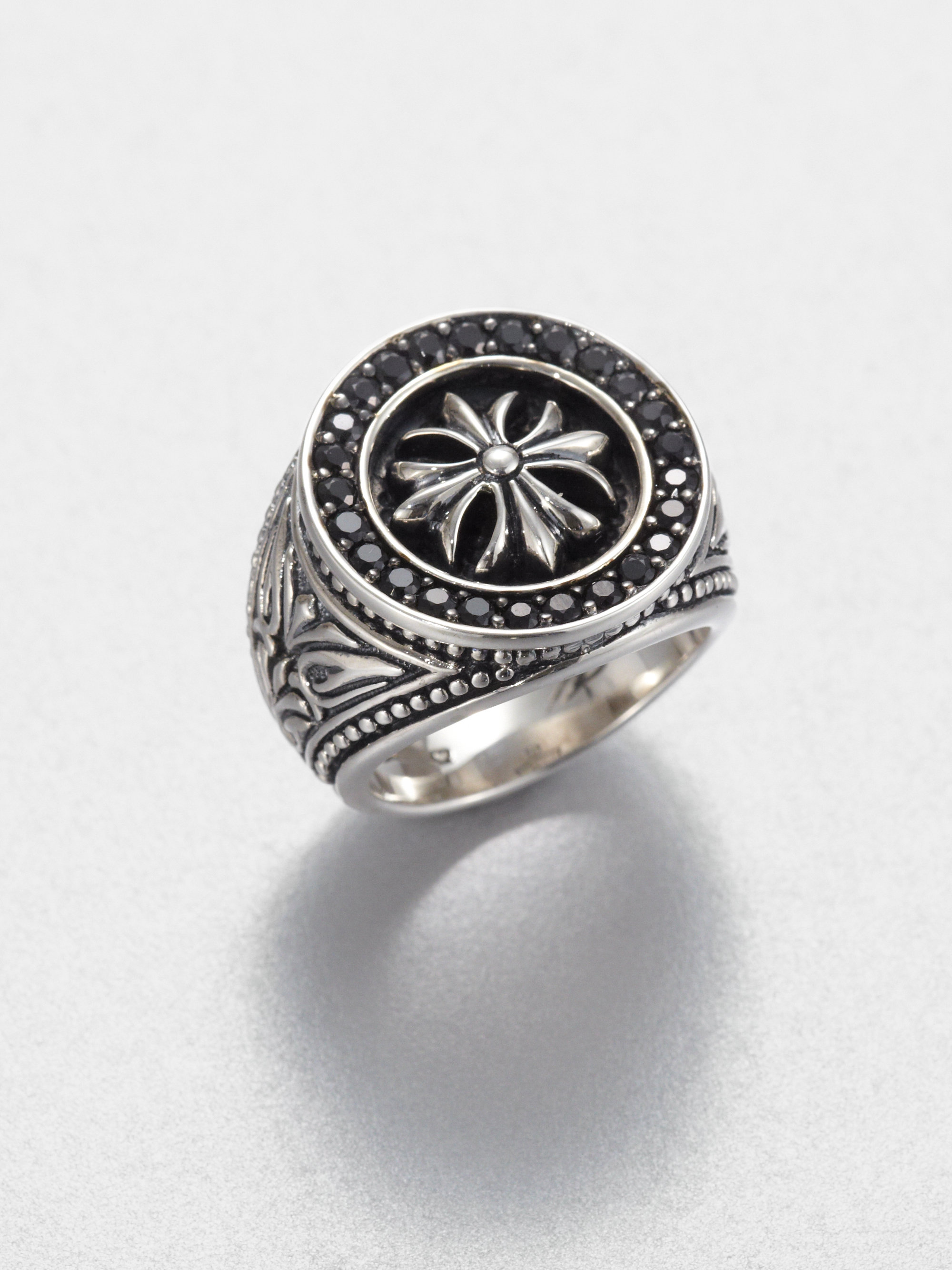 17881cc03 Gallery. Previously sold at: Saks Fifth Avenue · Men's Silver Rings