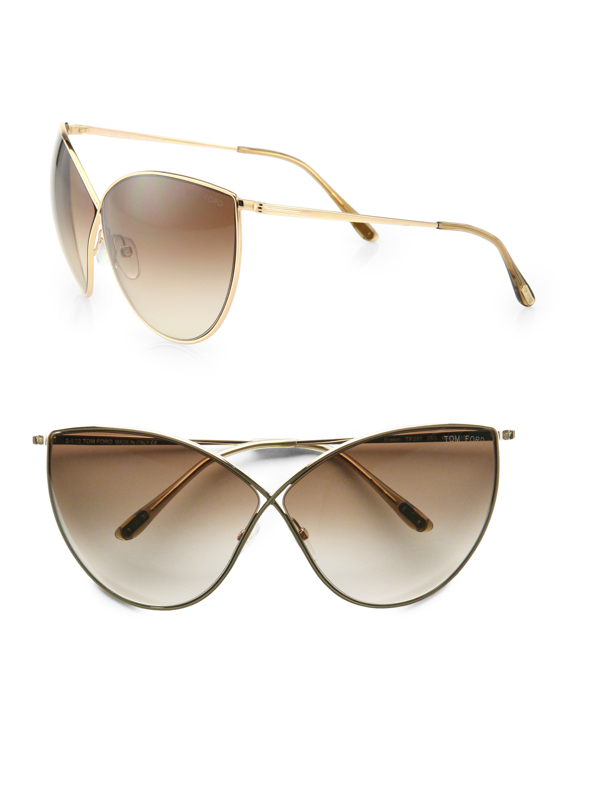 76019a07aeb5 Gallery. Previously sold at: Saks Fifth Avenue · Women's Tom Ford Cat Eye
