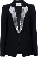Viktor & Rolf Mirrored Lapel Blazer