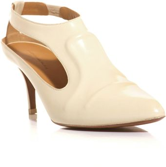 Balenciaga Cutout Side Leather Shoes - Lyst