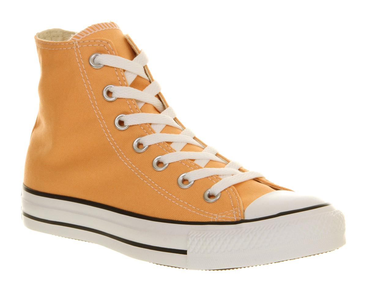 13cd572cc0ac Converse All Star Hi Peach Cobbler in Orange for Men - Lyst