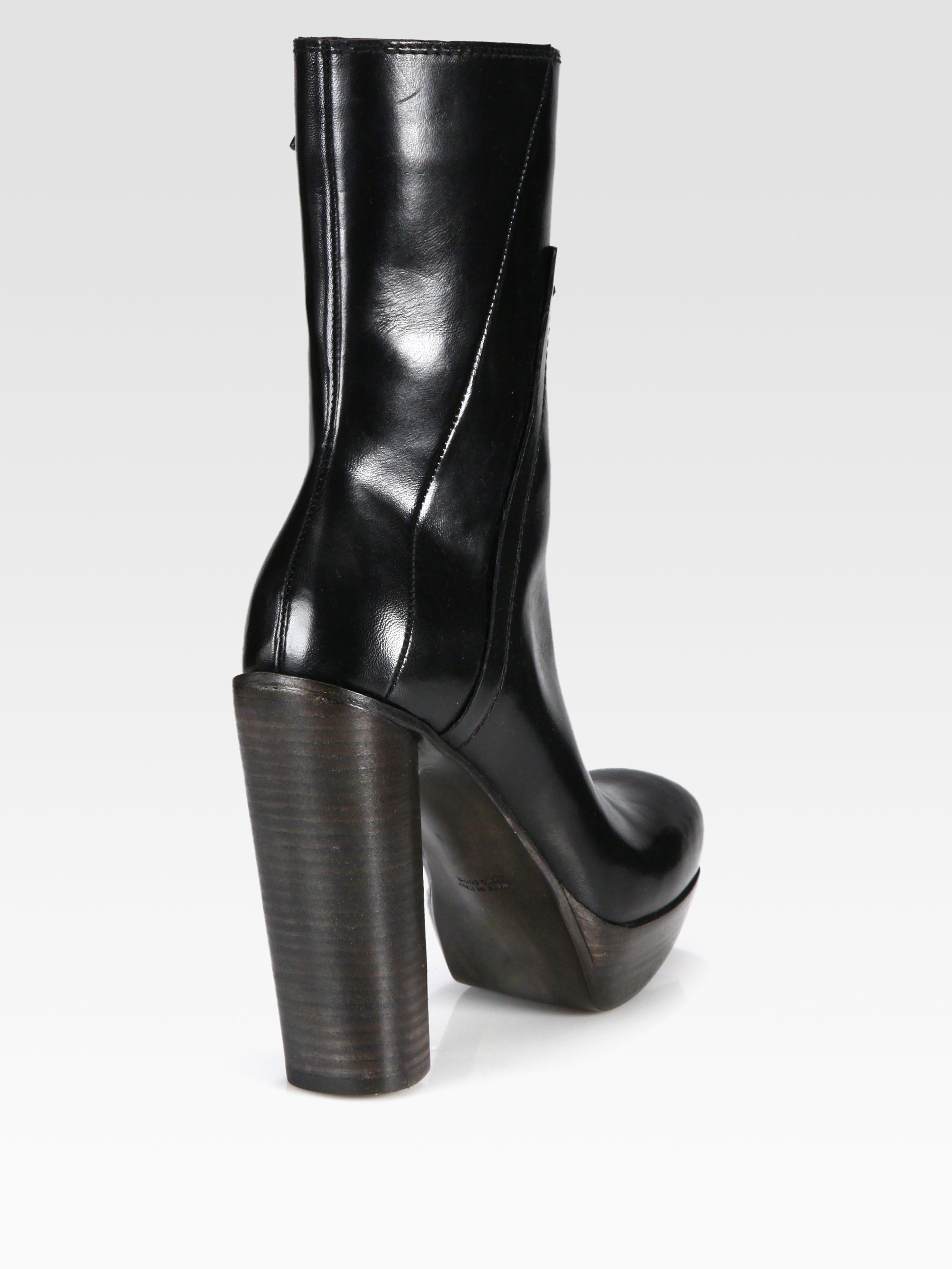 Costume National Knee-High Wedge Boots reliable cheap online FEQMLdI