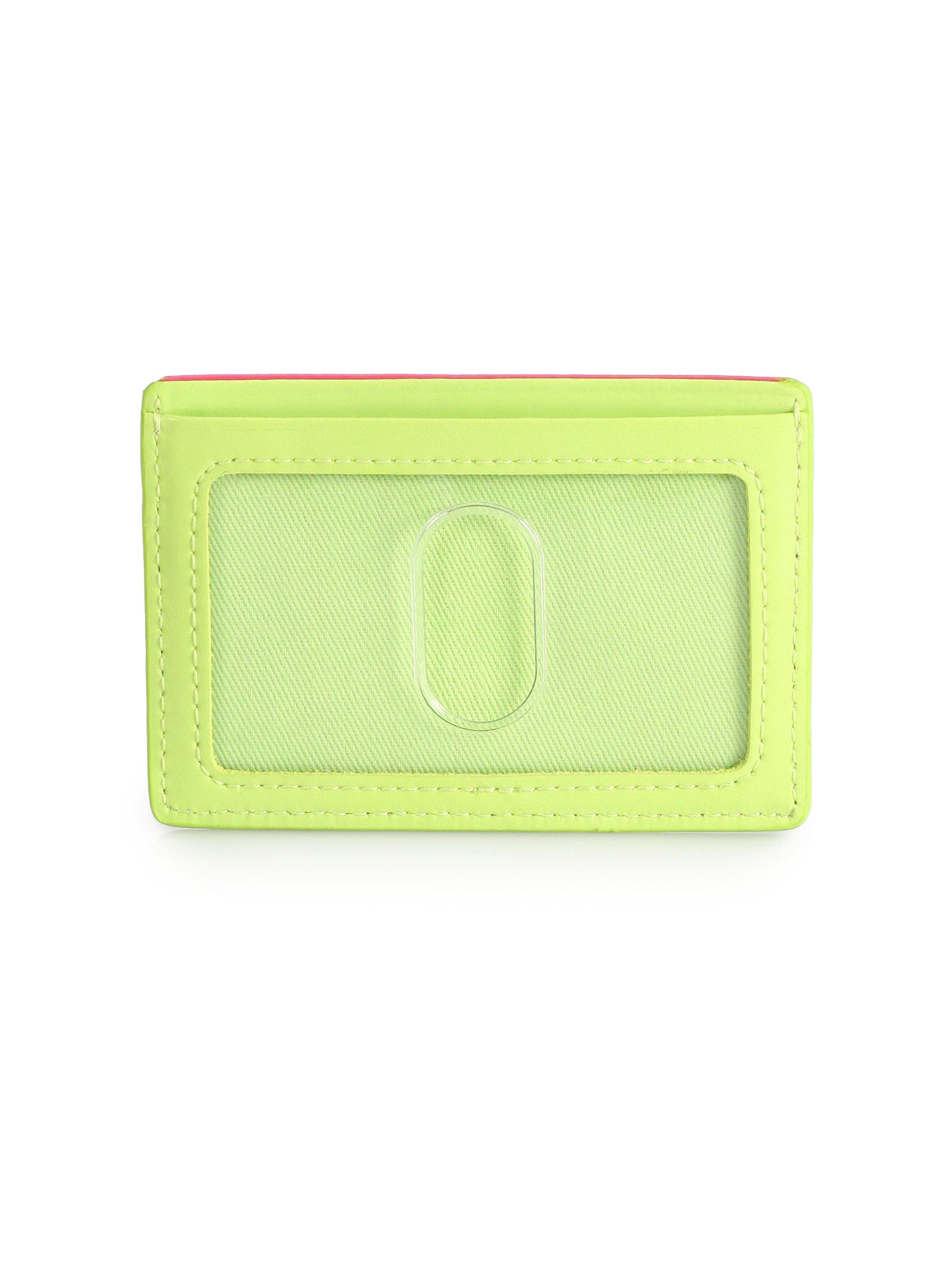 Designer Card Holder With Id Window Women S