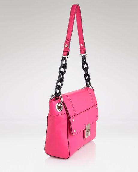 Hot Pink Milly Shoulder Bag