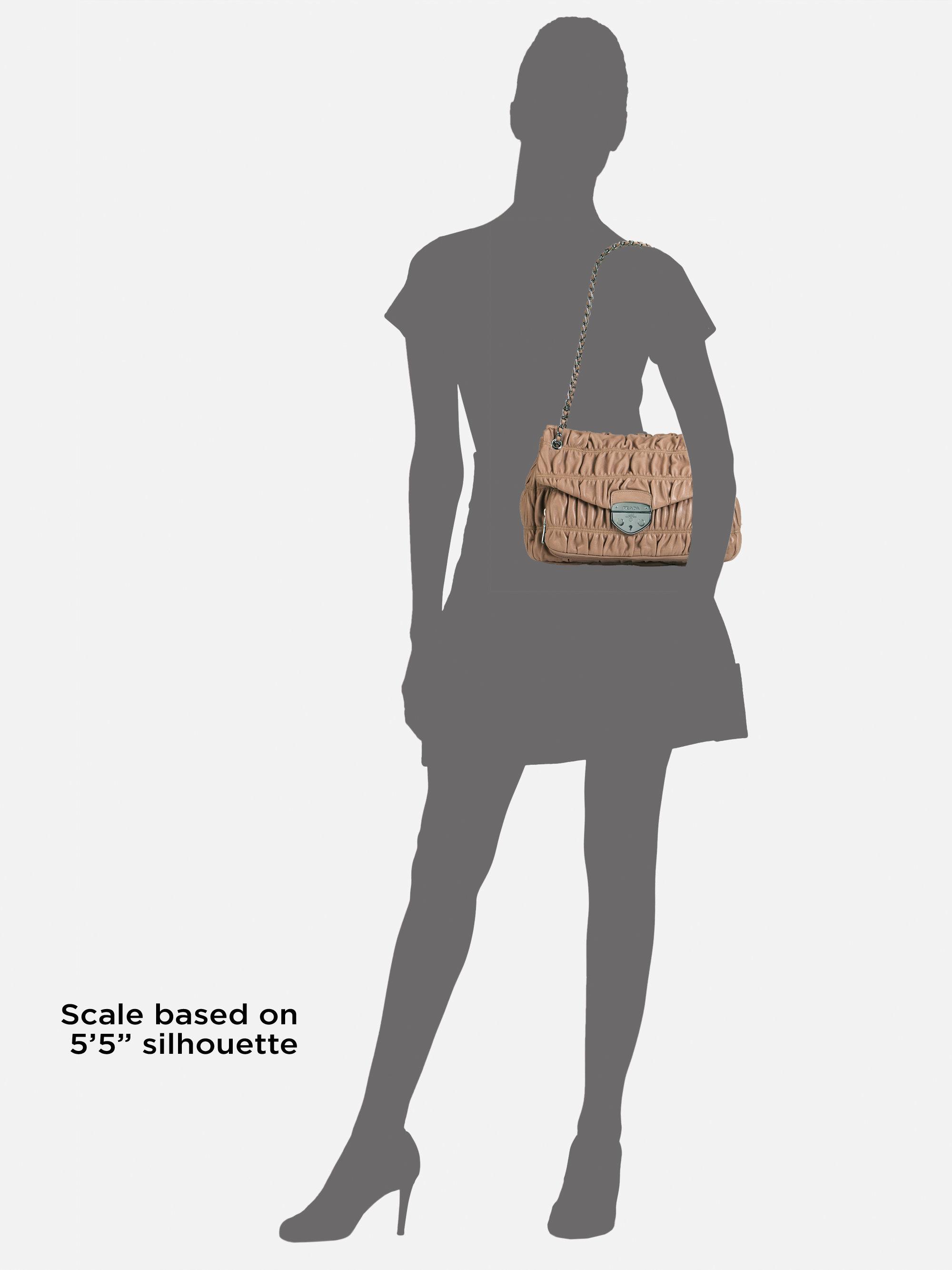 cheap prada bag - prada nappa gaufre tote with shoulder