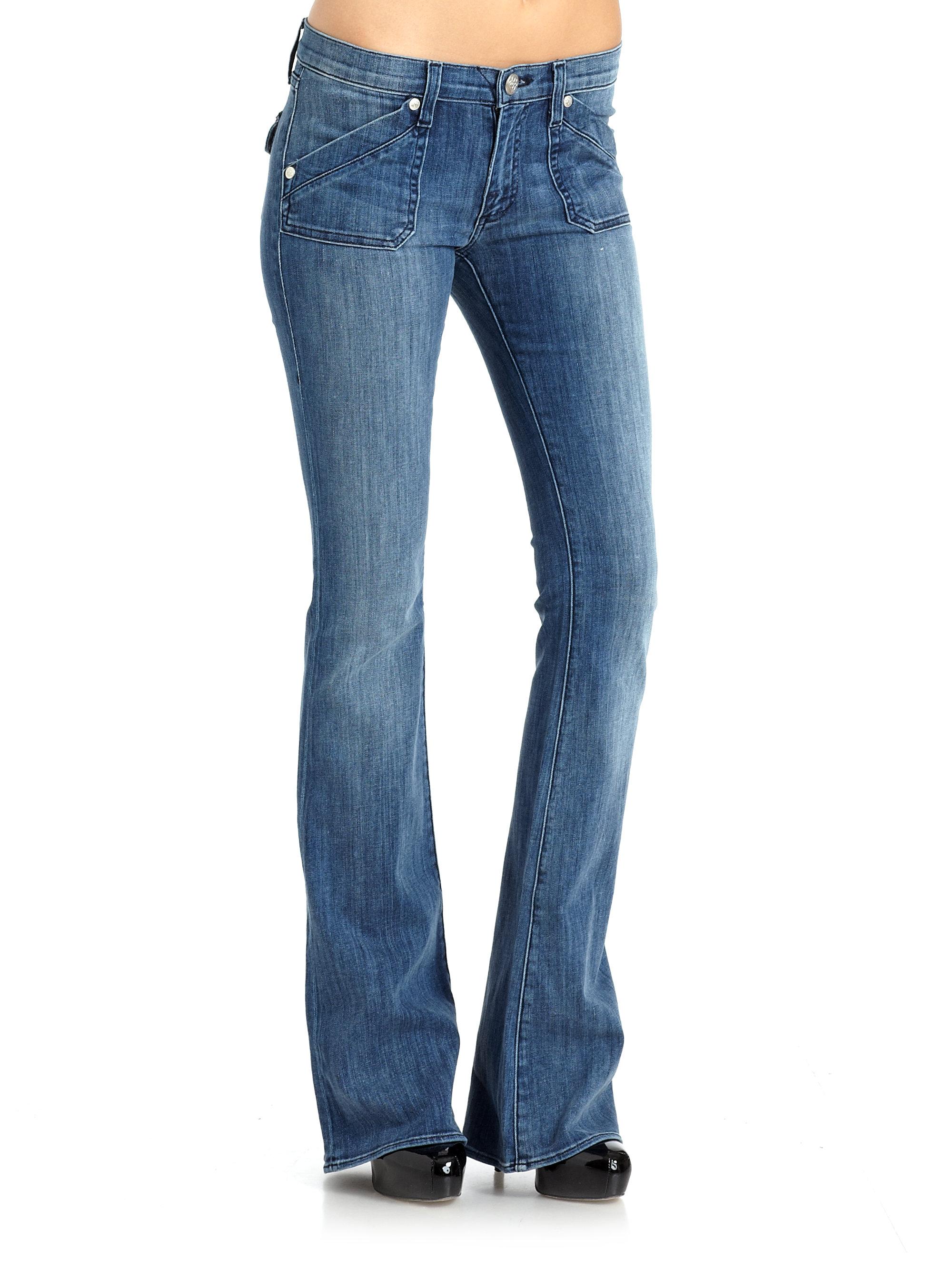 rock republic edie jeans in blue lyst. Black Bedroom Furniture Sets. Home Design Ideas