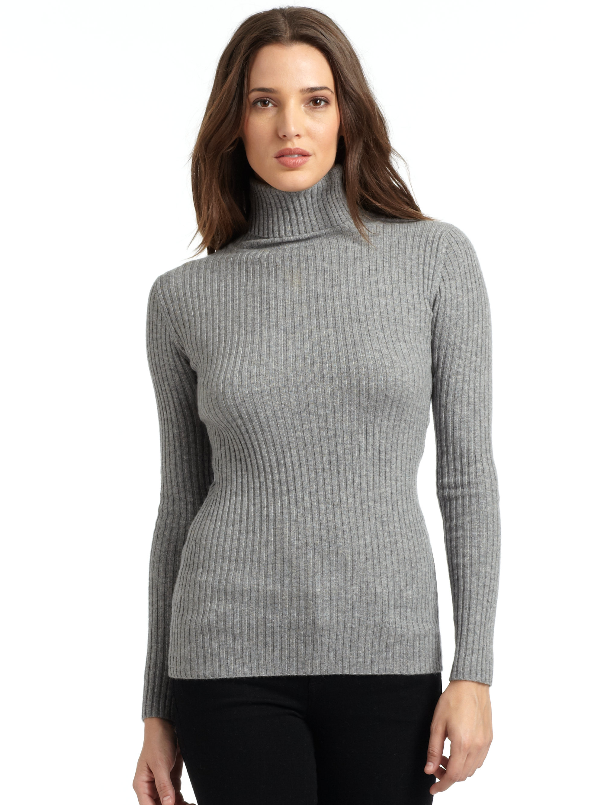 Cashmere Heartland carries a complete inventory of womens mock turtleneck cashmere sweaters in a range of colors, from black, to grey and brown. Choose from our sale priced, fashionable wool cashmere turtlenecks for women.