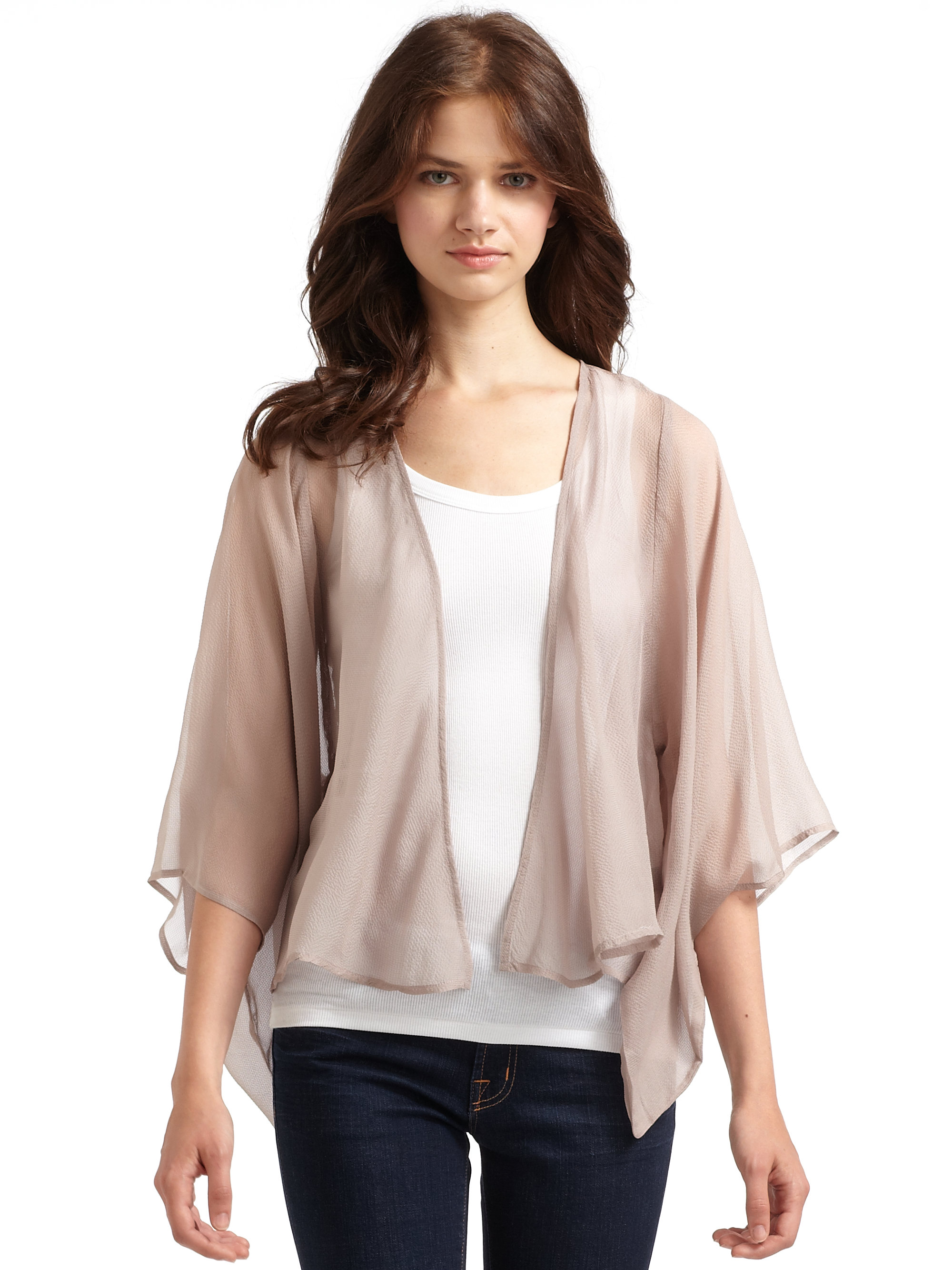August Silk Women's Button Down Long Sleeve Crew Neck Silk Blend Cardigan. by August Silk. $ - $ $ 30 $ 36 FREE Shipping on eligible orders. out of 5 stars 6. Product Features Long sleeve Crewneck Cardigan With Button Closure.