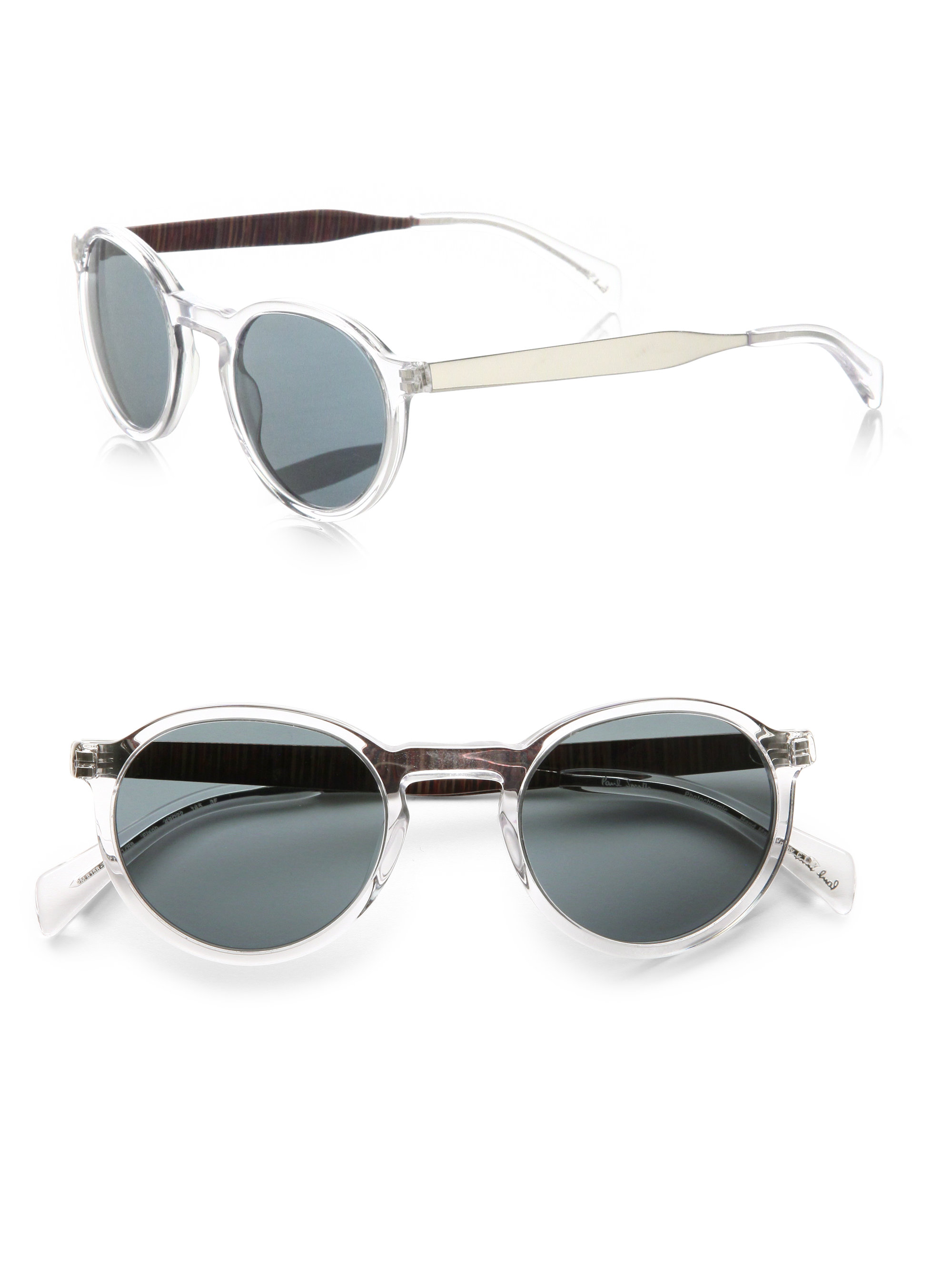 Lyst Paul Smith Elson Round Sunglasses For Men