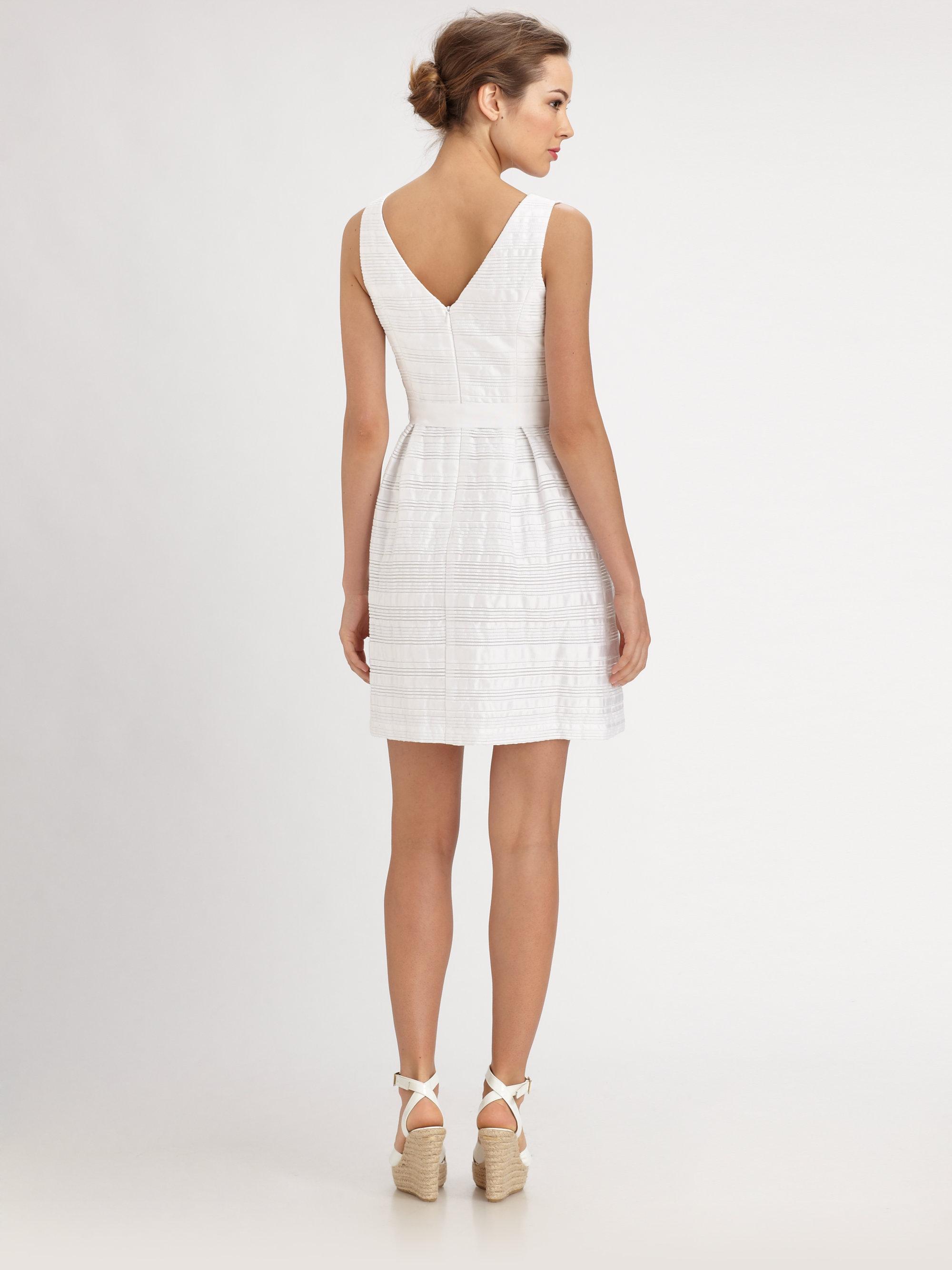 45095eb5425 Trina Turk Fru Fru Dress in White - Lyst