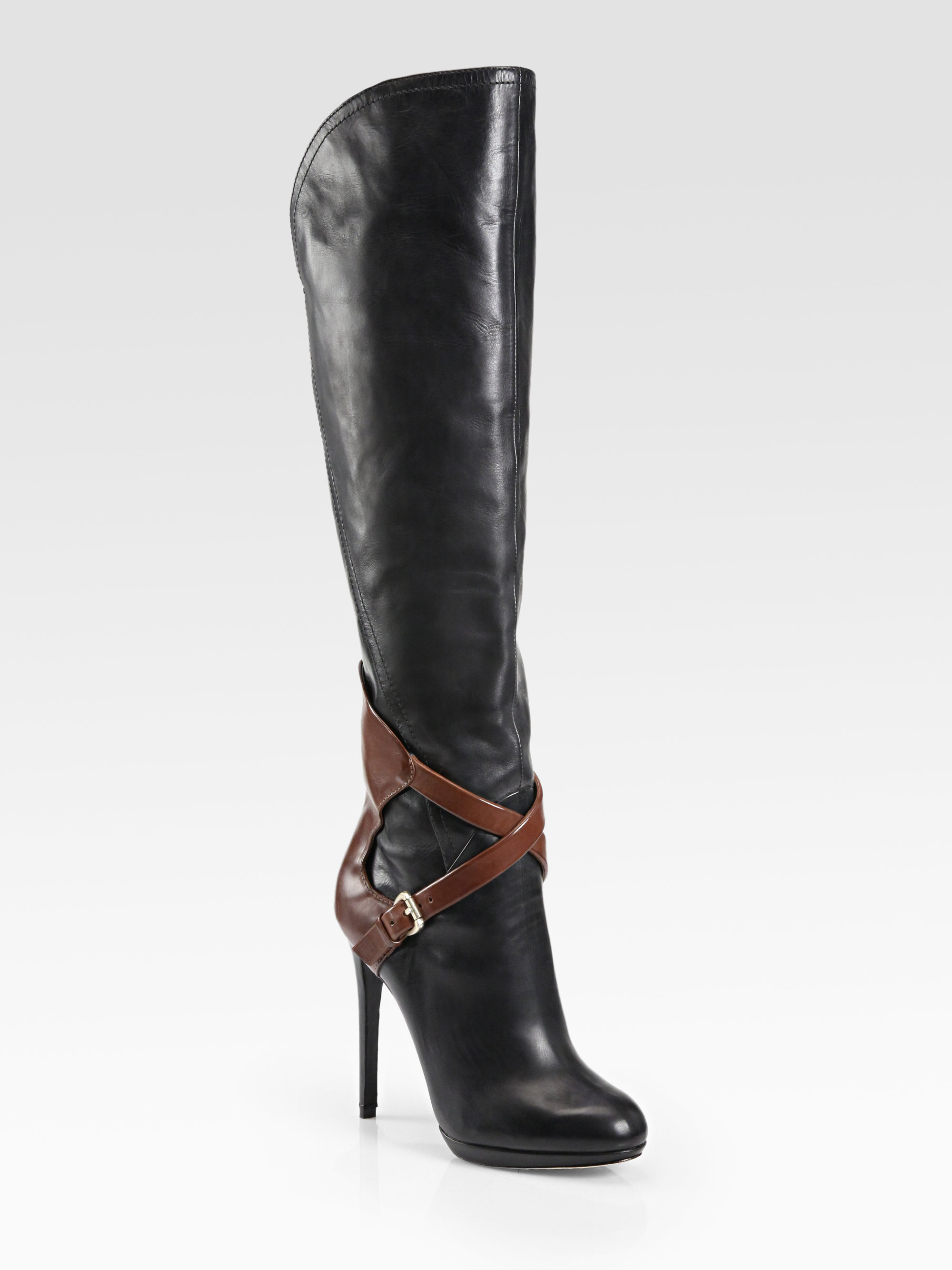 cheap sale brand new unisex cheap sale sneakernews B Brian Atwood Jewel-Embellished Knee-High Boots Vmjsg44DJ