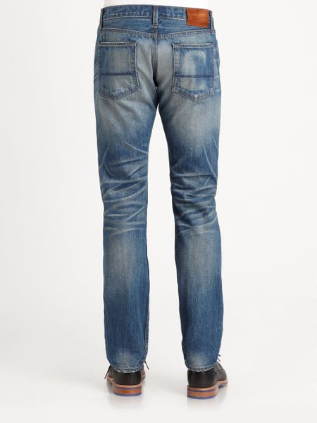 Vince Selvedge Denim Jeans In Blue For Men Blue Vintage