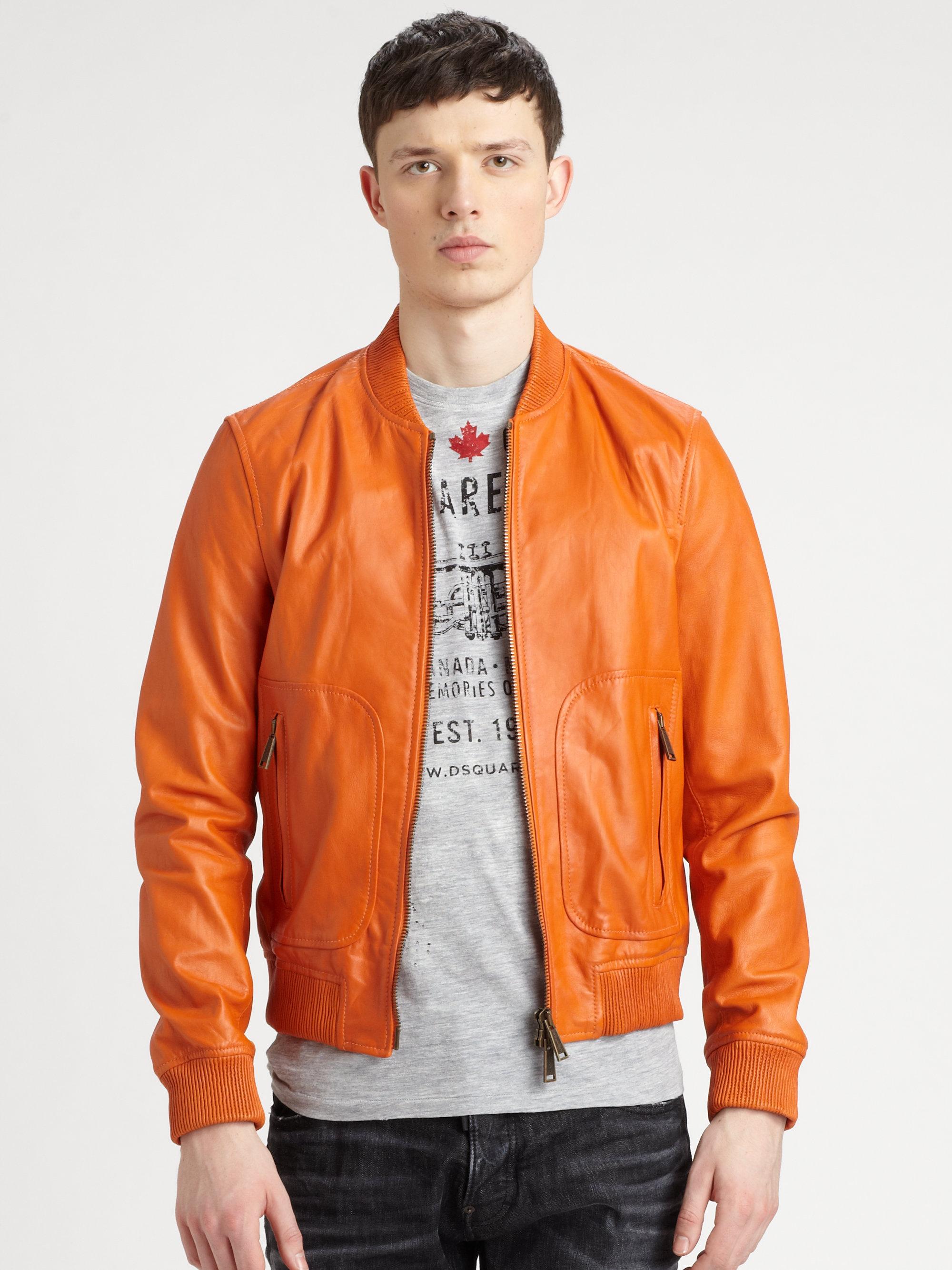 dsquared orange jacket | Dsquared Greece