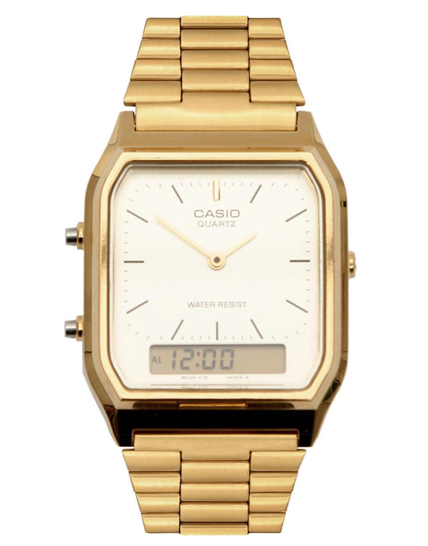 g shock aq230ga9dmqyes digital bracelet watch in metallic for men gallery