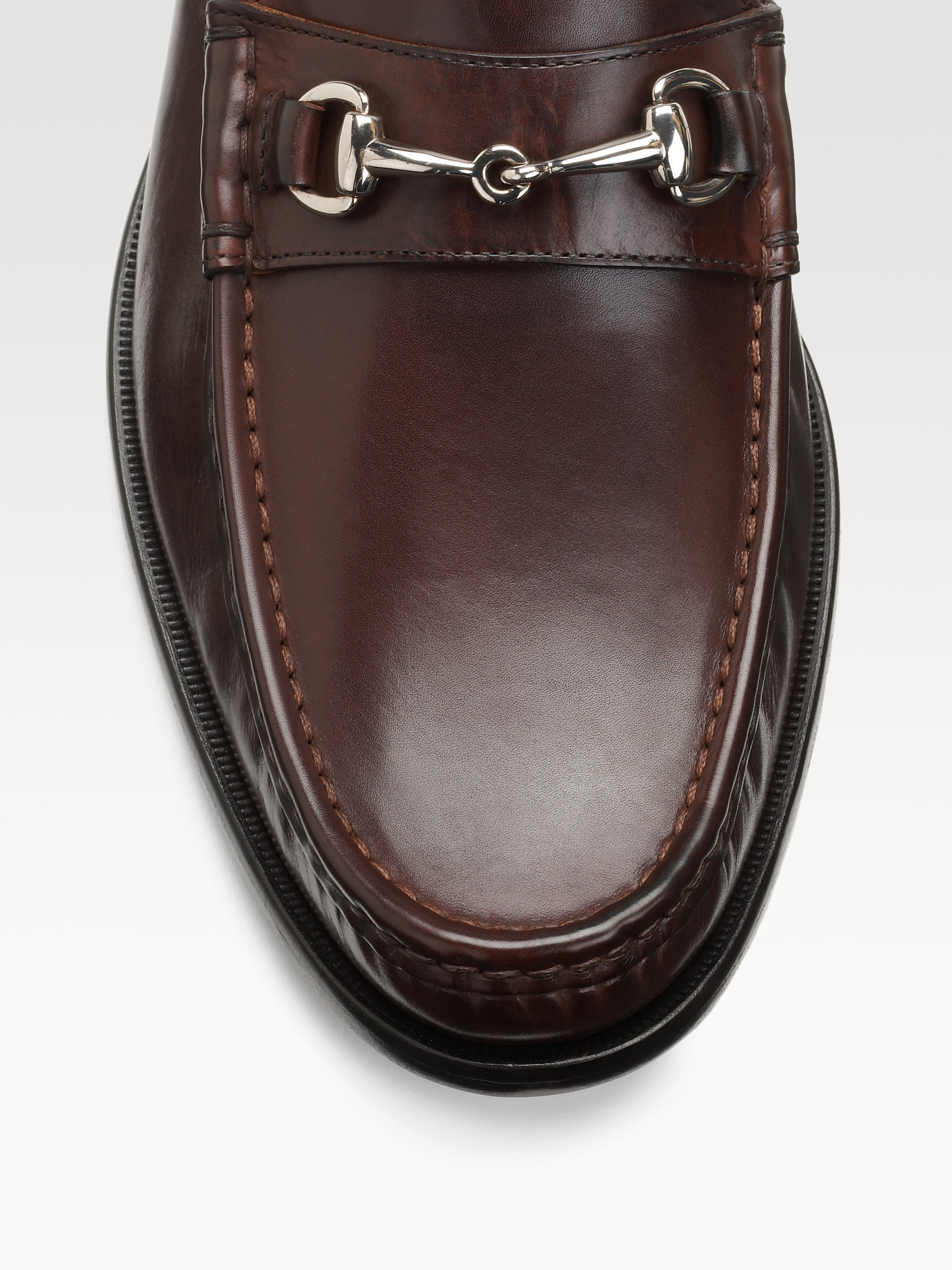 cole haan air aiden bit loafers in brown for men lyst. Black Bedroom Furniture Sets. Home Design Ideas