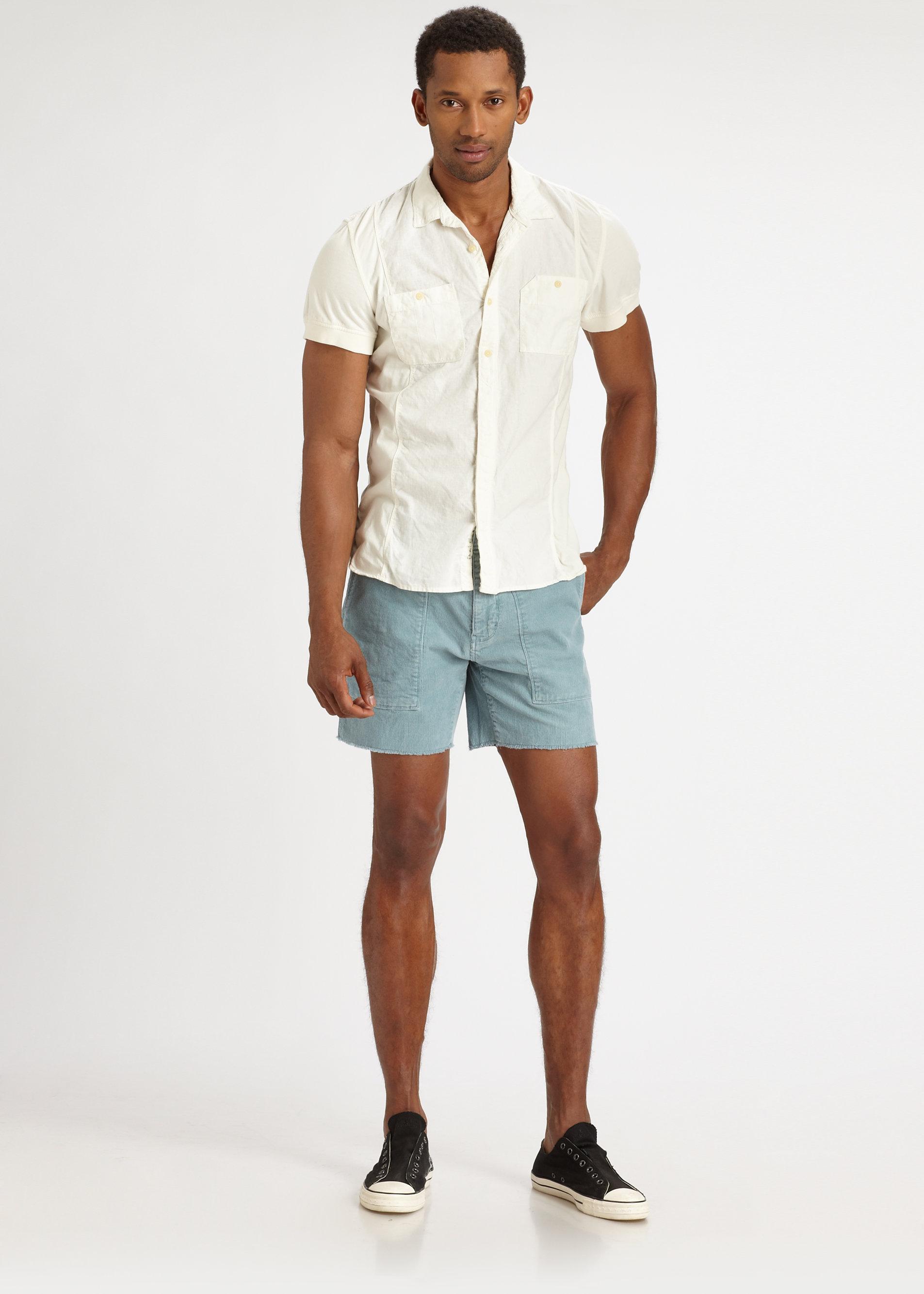 2013 fashion mens shorts 100 cotton male casual shorts