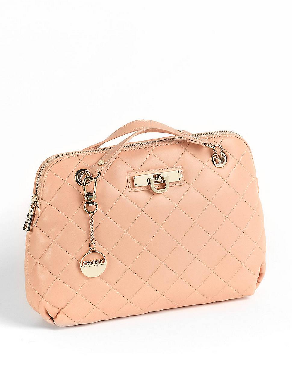 Pink Dkny Shoulder Bag 24