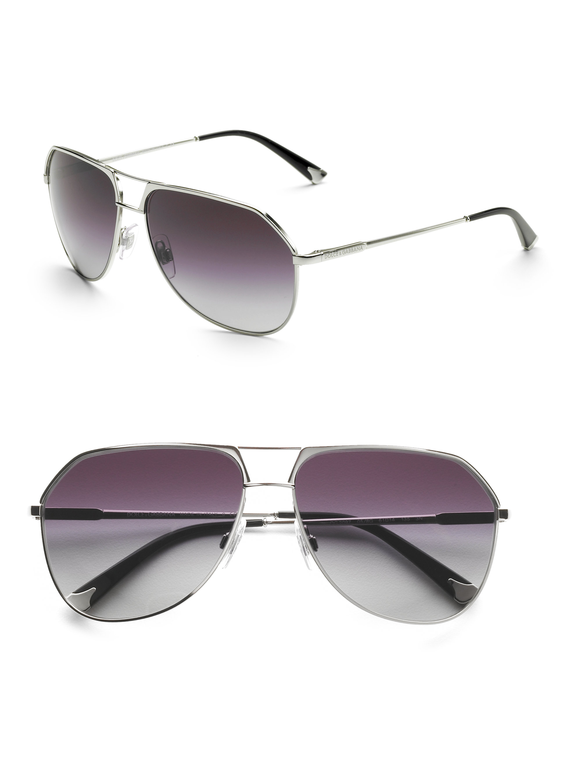 Dolce And Gabbana Gold Frame Sunglasses : Dolce & Gabbana Metal Aviator Sunglasses in Gold for Men ...