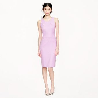 J.Crew Emmaleigh Dress in Super 120s - Lyst