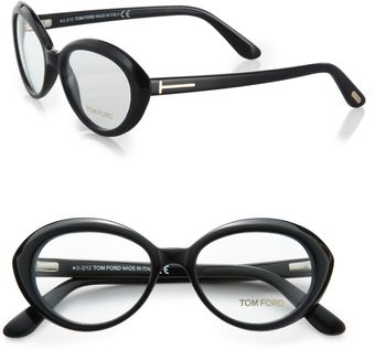 Tom Ford Round Acetate Reading Glasses - Lyst