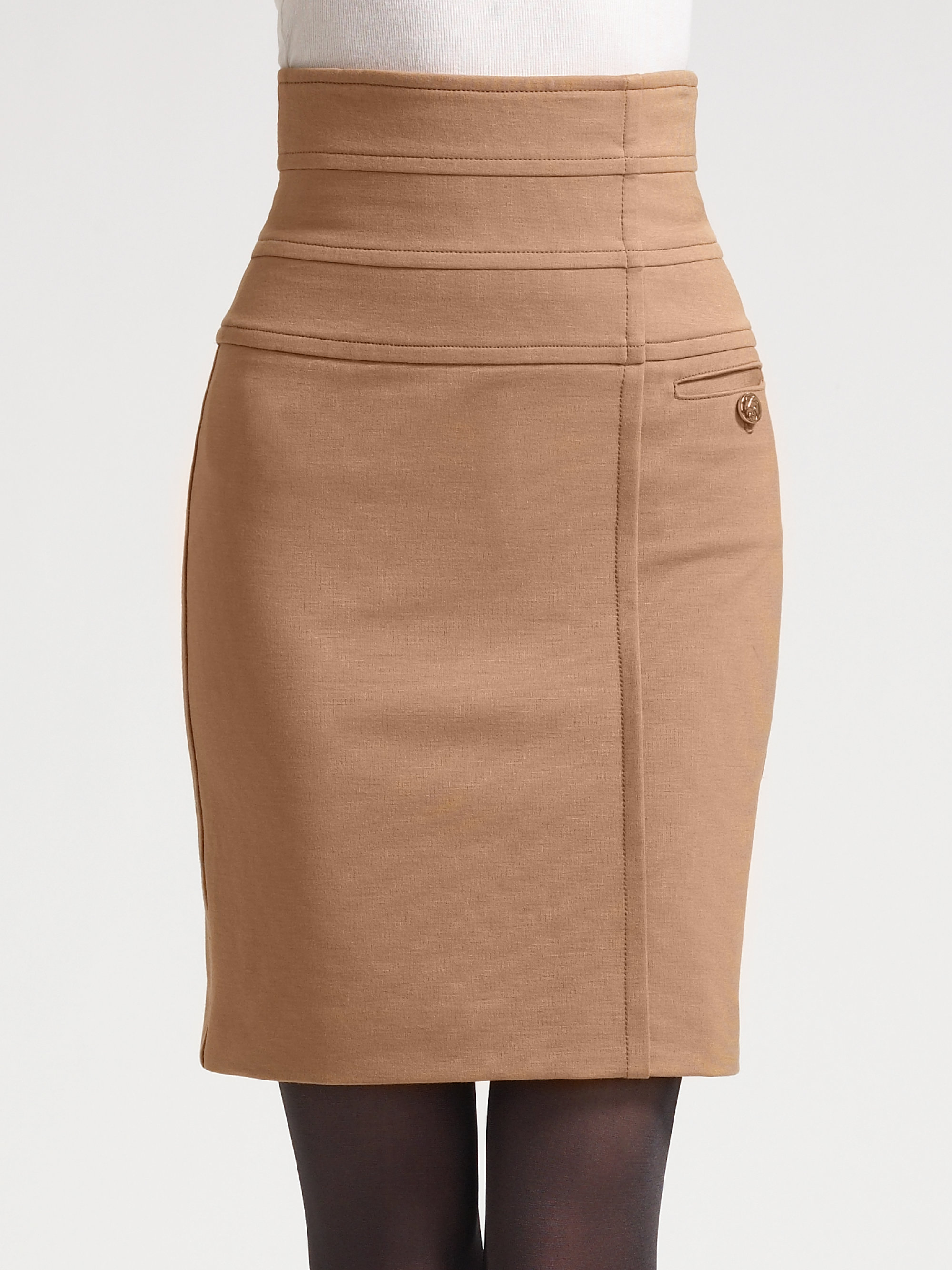 how to wear a jersey knit skirt