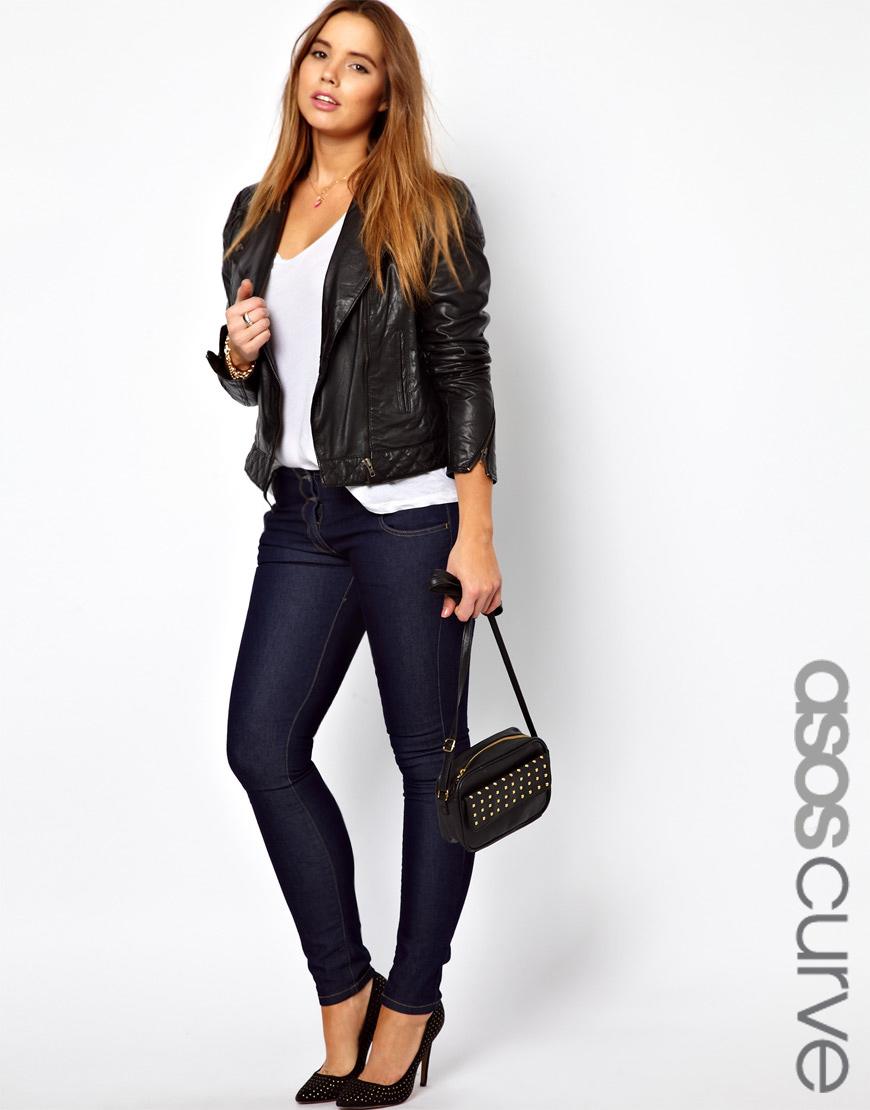 Lyst - Asos Super Sexy Skinny Jeans In Blue-6629