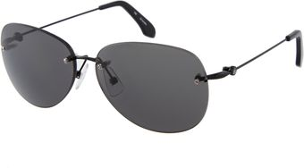 Calvin Klein Ck By Aviator Sunglasses - Lyst