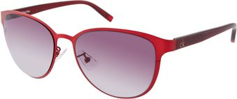 Calvin Klein Ck By Gradient Sunglasses - Lyst