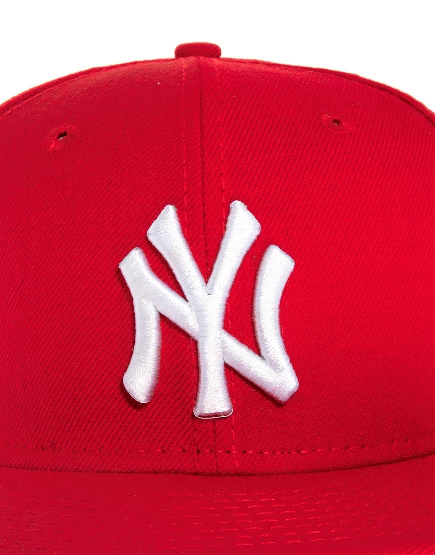 b973b083310 Lyst - Sprayground New Era 59fifty Cap Ny in Red for Men