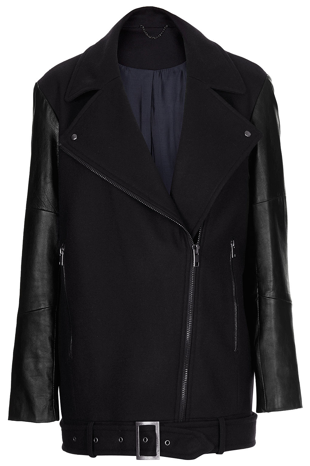 Topshop leather jackets