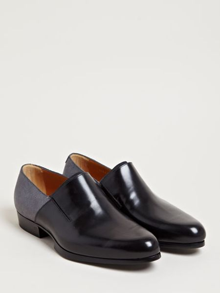 Balenciaga Mens Slit Vamp Shoes In Multicolor For Men