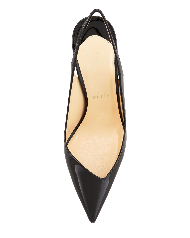 christian laboutain shoes - christian louboutin fleuve pointed toe slingback pump | Landenberg ...