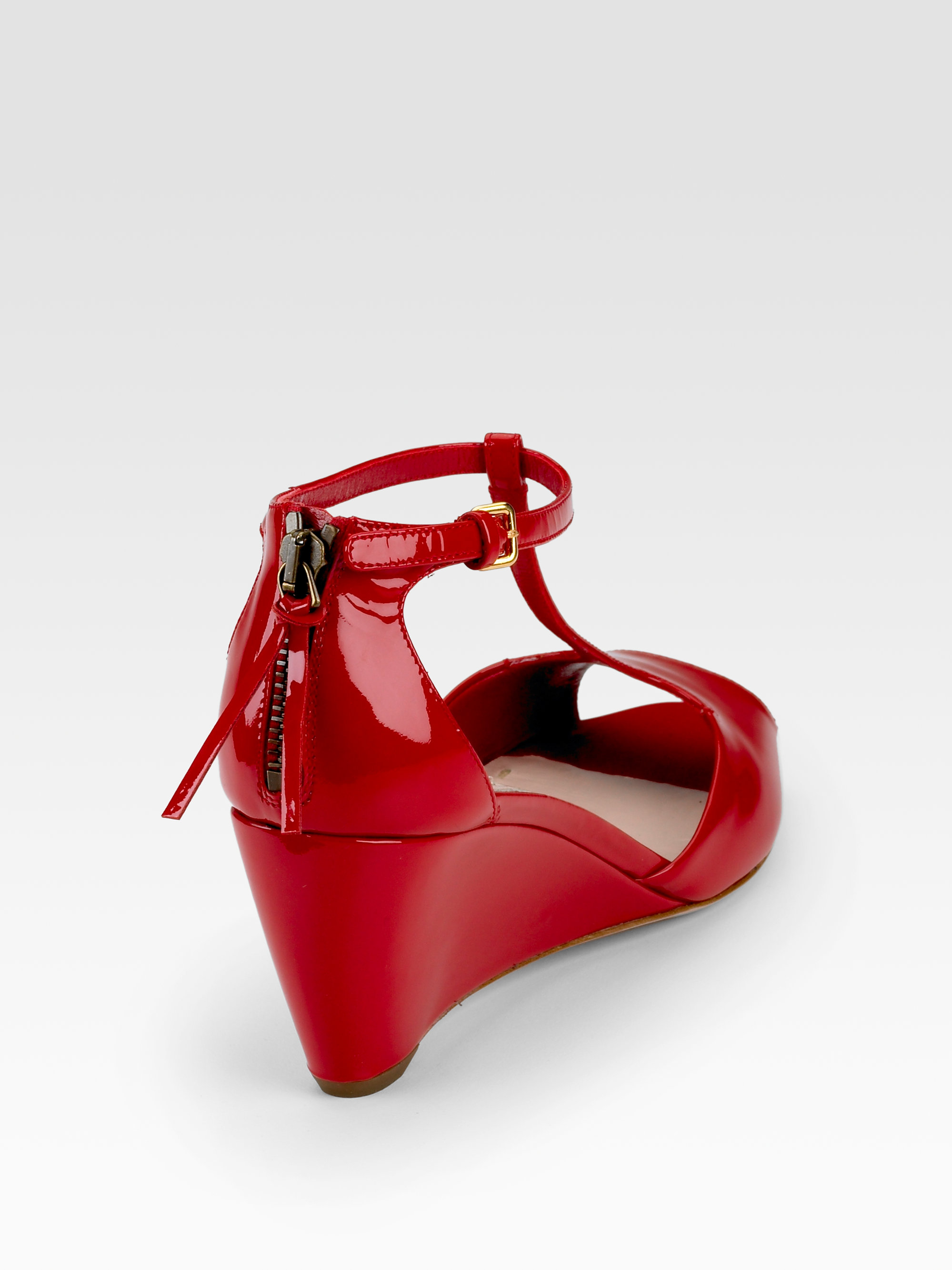 Find patent leather red wedge shoes at ShopStyle. Shop the latest collection of patent leather red wedge shoes from the most popular stores - all in.
