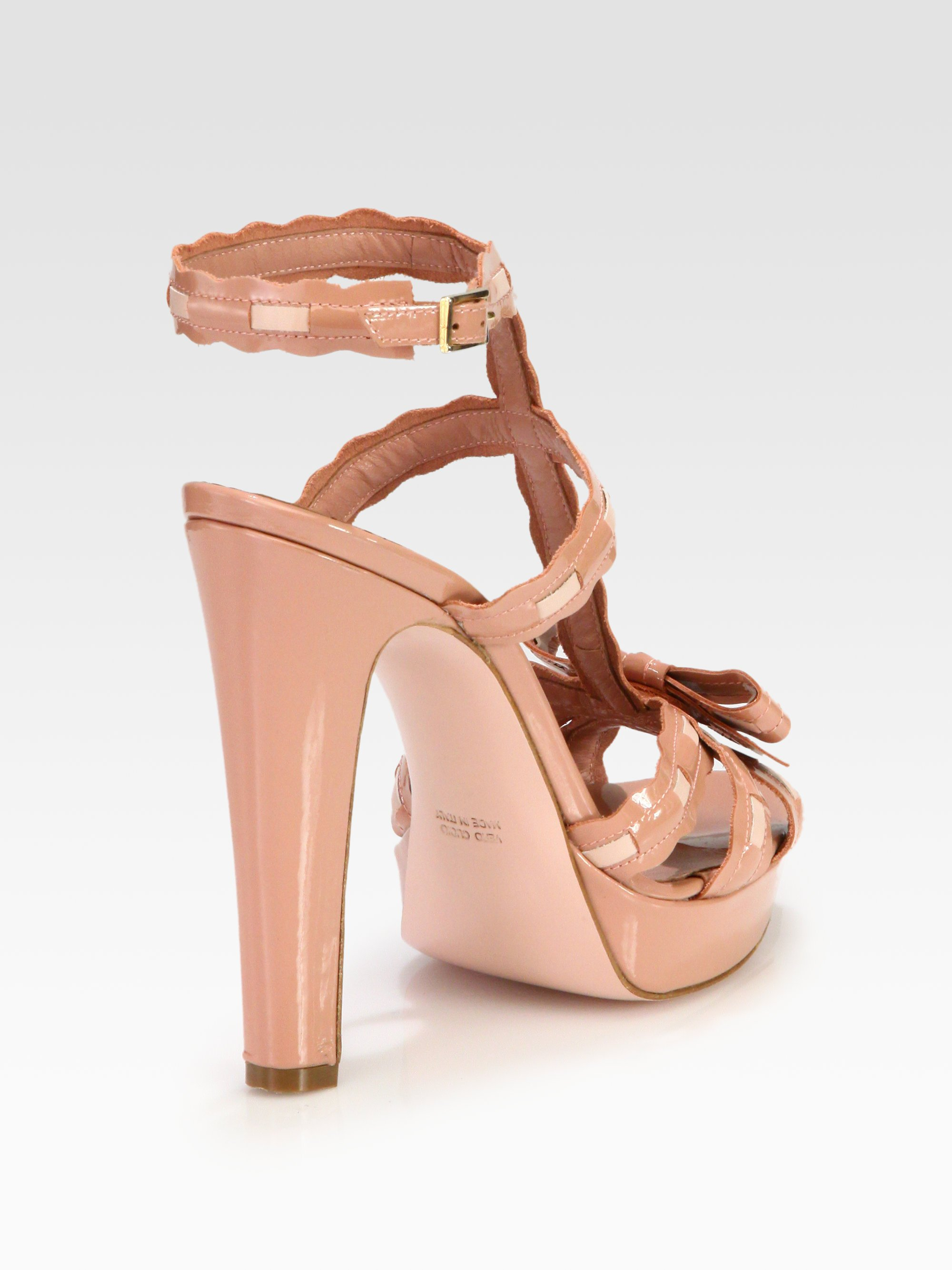Cheap Sale Top Quality RED Valentino Platform sandals Official For Sale With Mastercard XYHBQj