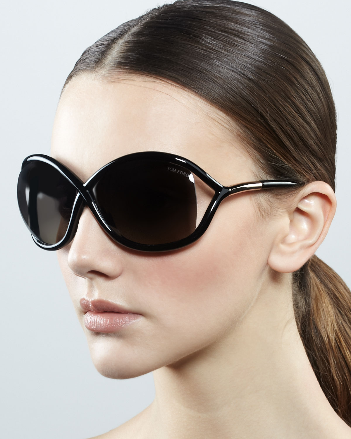 tom ford whitney polarized cross sunglasses in black lyst. Cars Review. Best American Auto & Cars Review