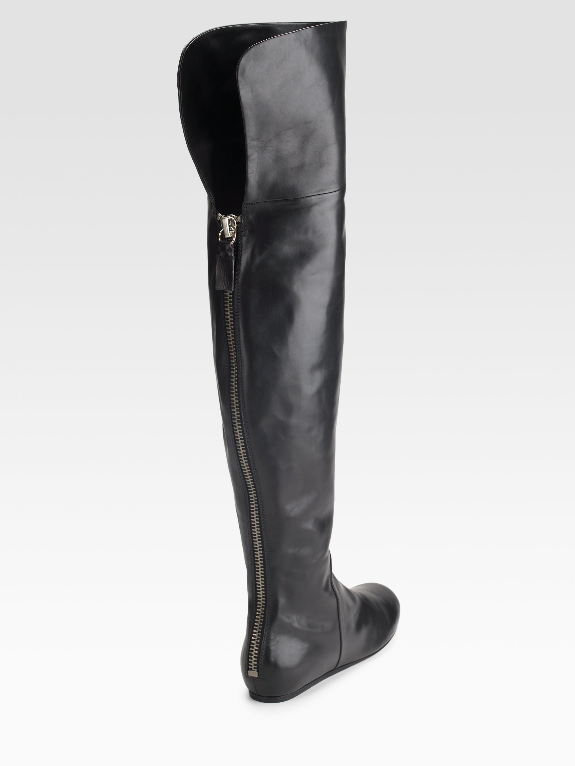 Vera Wang Studded Knee-High Boots outlet free shipping authentic NxzDcCVq0B
