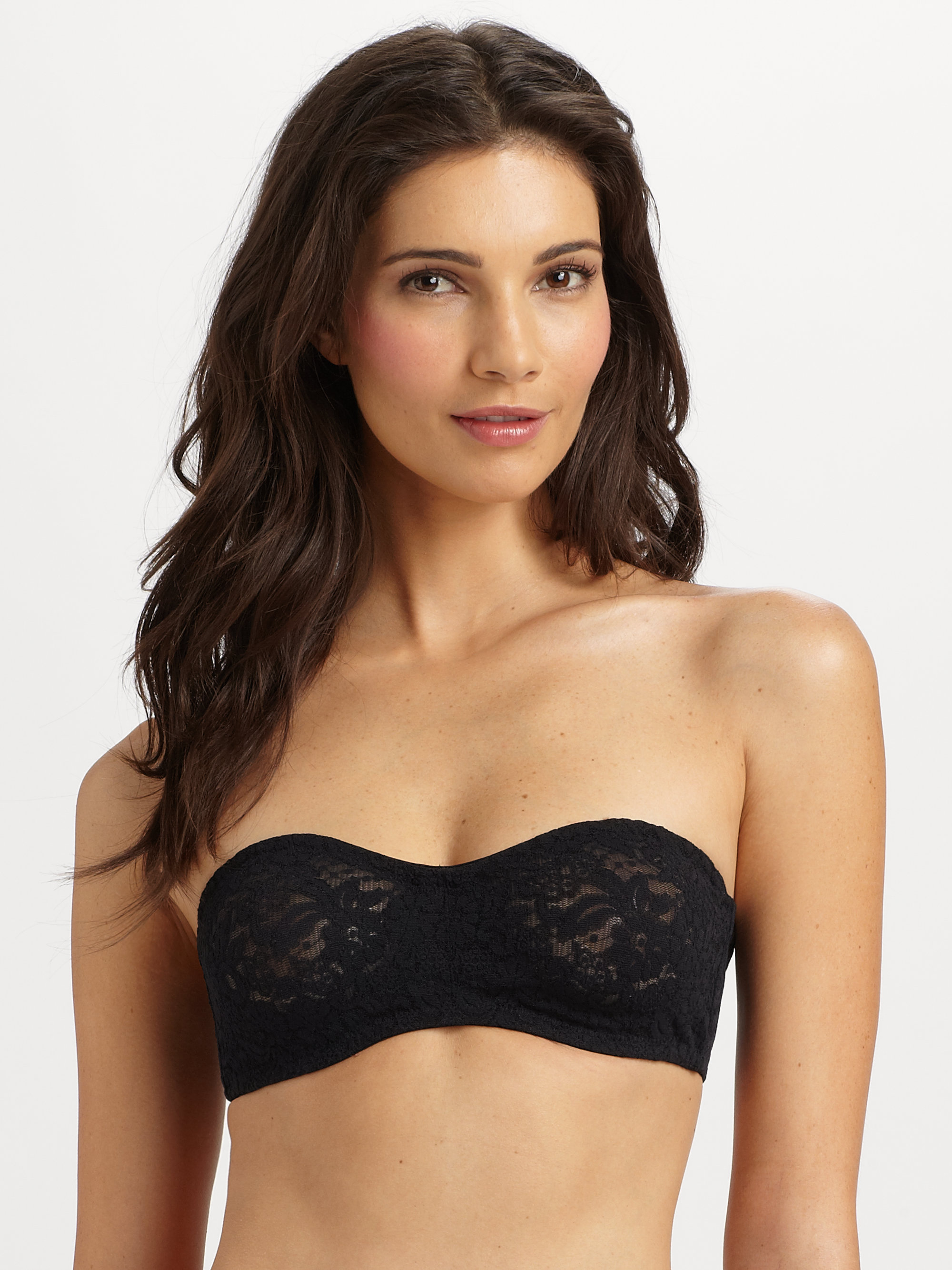 619f707d0b5 Wacoal Halo Moulded Strapless Bra in Black - Lyst