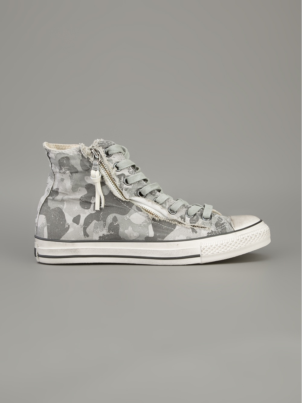 e4d98b93fcb2 Lyst - Converse Camouflage Hitop Trainer in Gray for Men