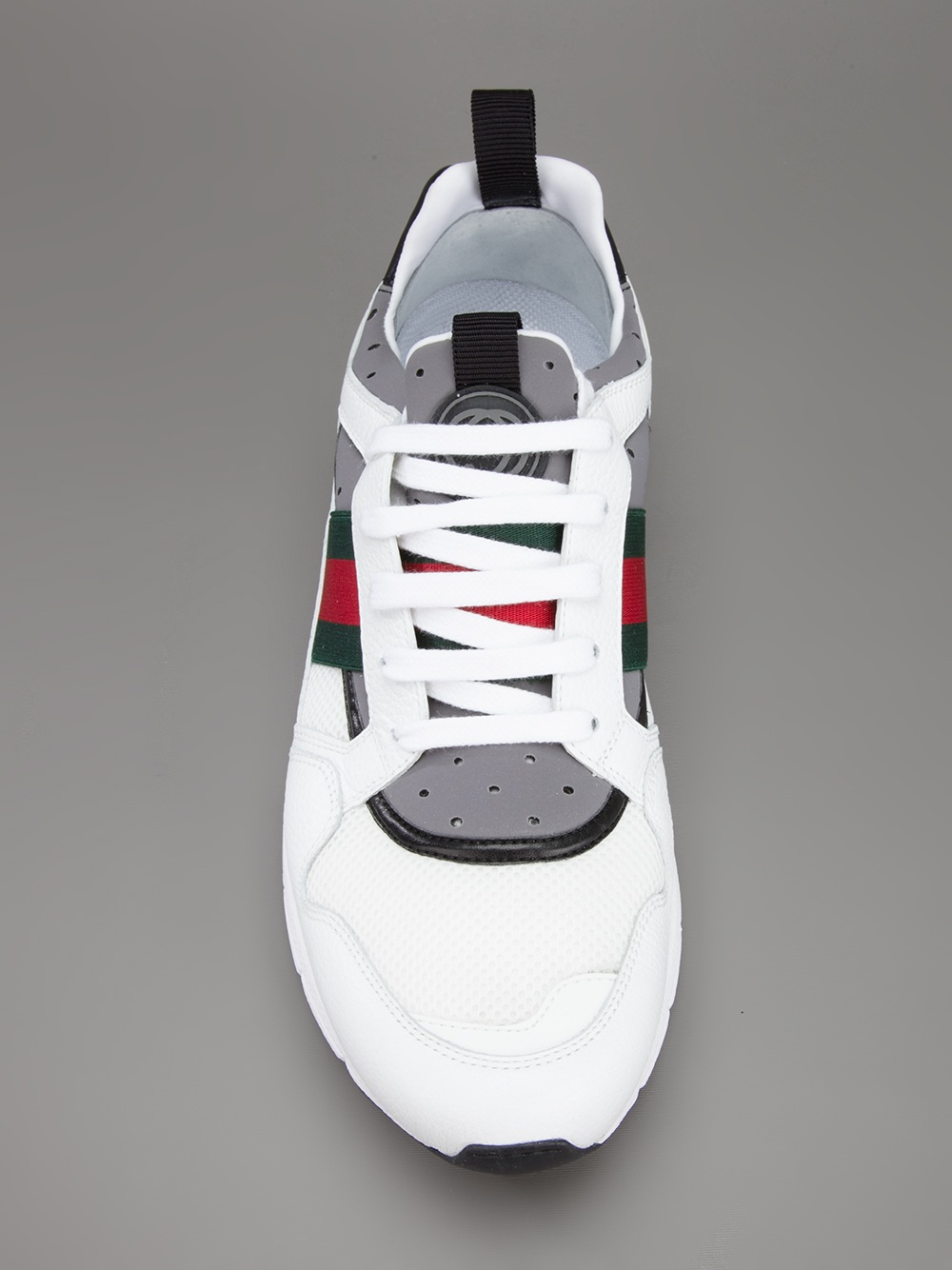 Lyst Gucci Running Trainer In White For Men