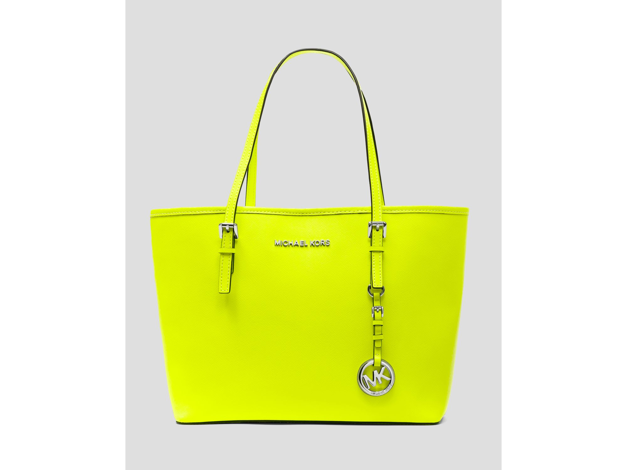 25767080820 Michael michael kors Tote Jet Set Travel Small in Yellow Ly ...